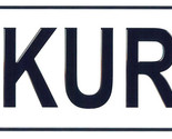 Kurt license plate thumb155 crop