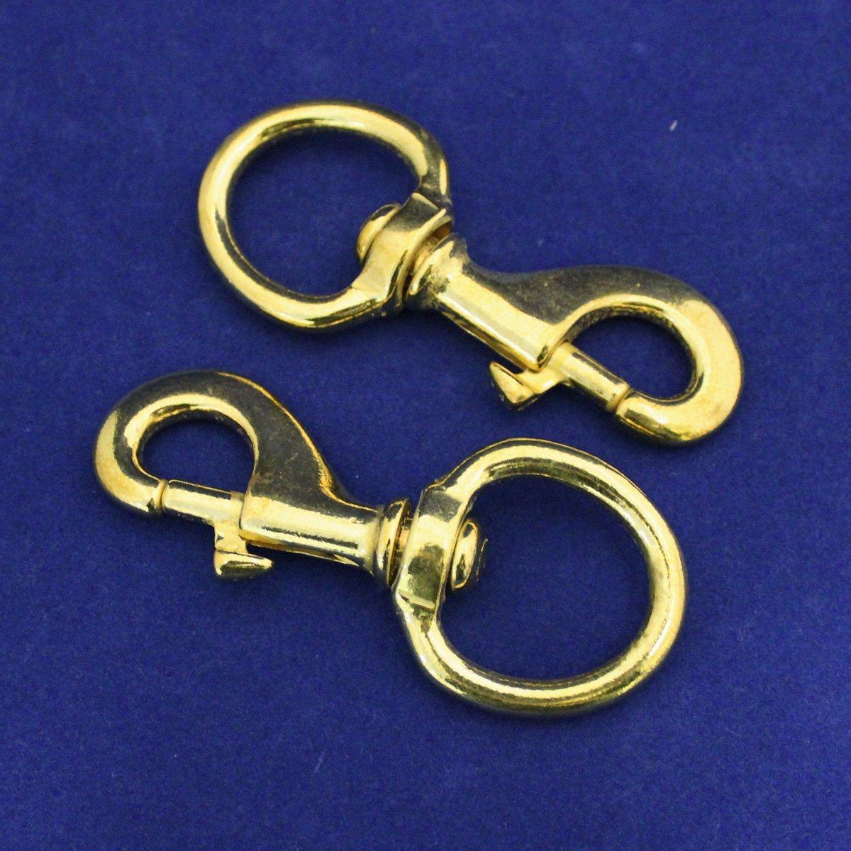 Snap Hook - Brass