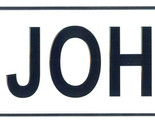 John license plate thumb155 crop