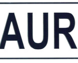 Maurice license plate thumb155 crop