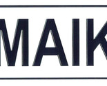 Maike license plate thumb155 crop