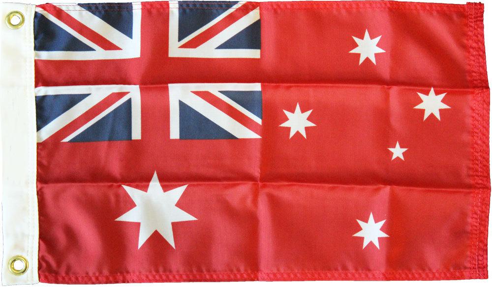 Australia red nylon 12x18