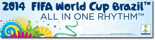 Worldcup bumper sticker