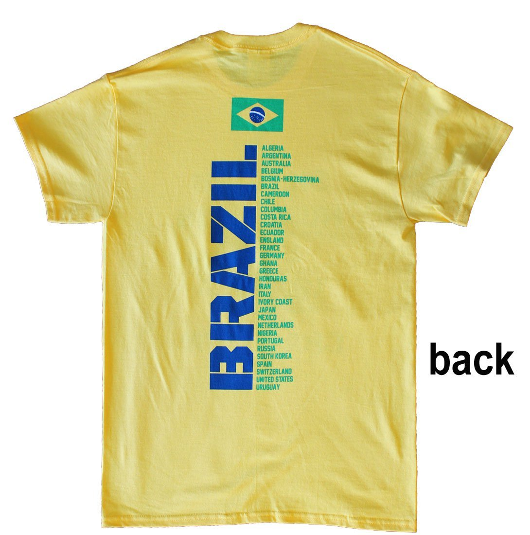 Brazil World Cup Soccer 2014 T-Shirt (YM)