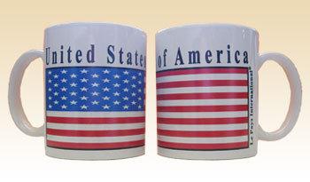 USA - ONE 12 oz. Coffee Mug