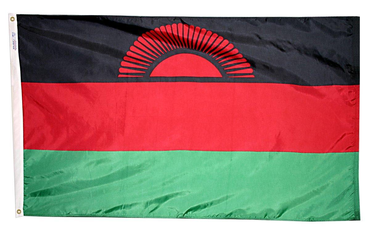 Malawi flag 3x5nylon