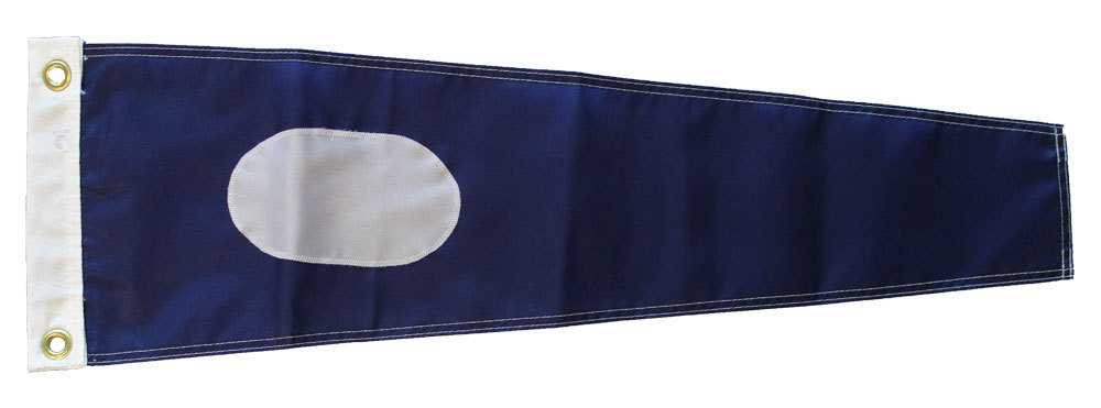 Number 2 - Nautical Code Signal Nylon Pennant