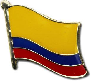 Ecuador civil lapel pin