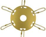 Ornament metal award ribbon pole ring gold thumb155 crop