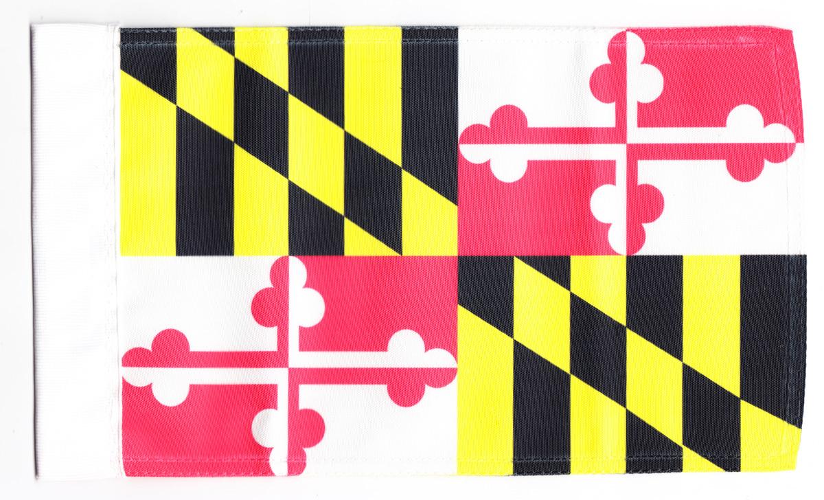 Maryland motorcycle flag