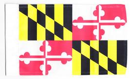 "Maryland - 5.5"" x 8.5"" Motorcycle Flag - $19.14"