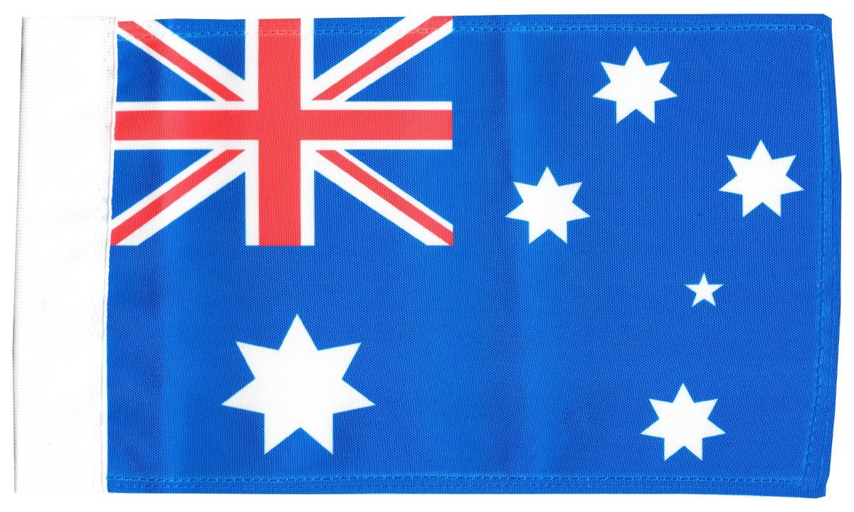 "Australia - 5.5"" x 8.5"" Motorcycle Flag"