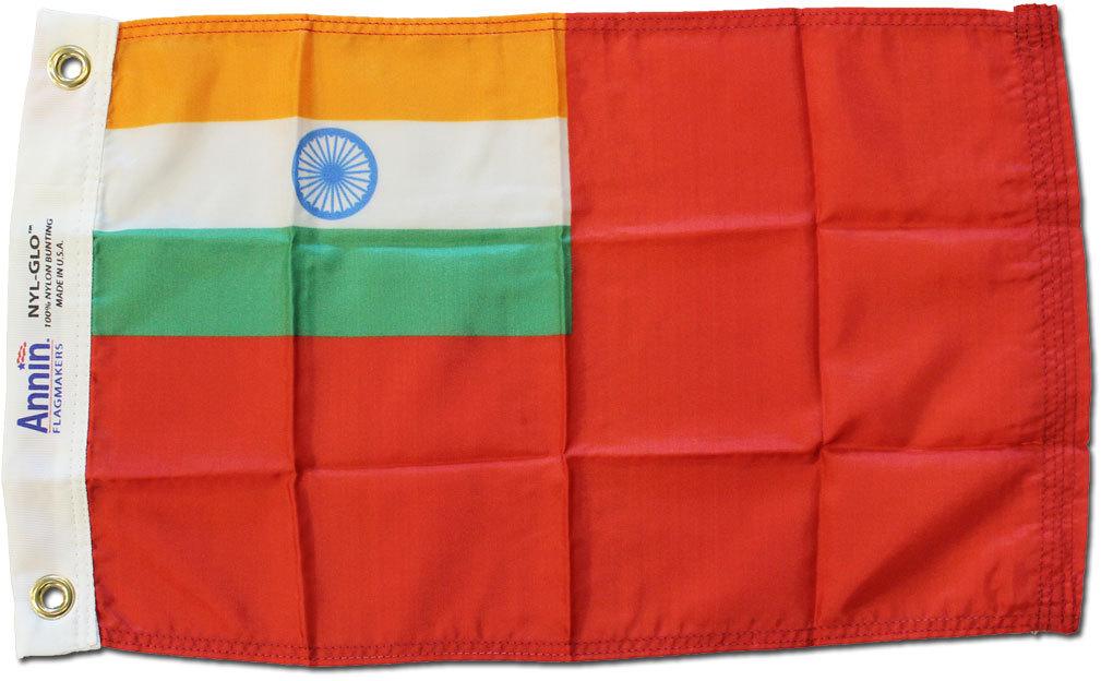 India ensign 12x18 nylon fl