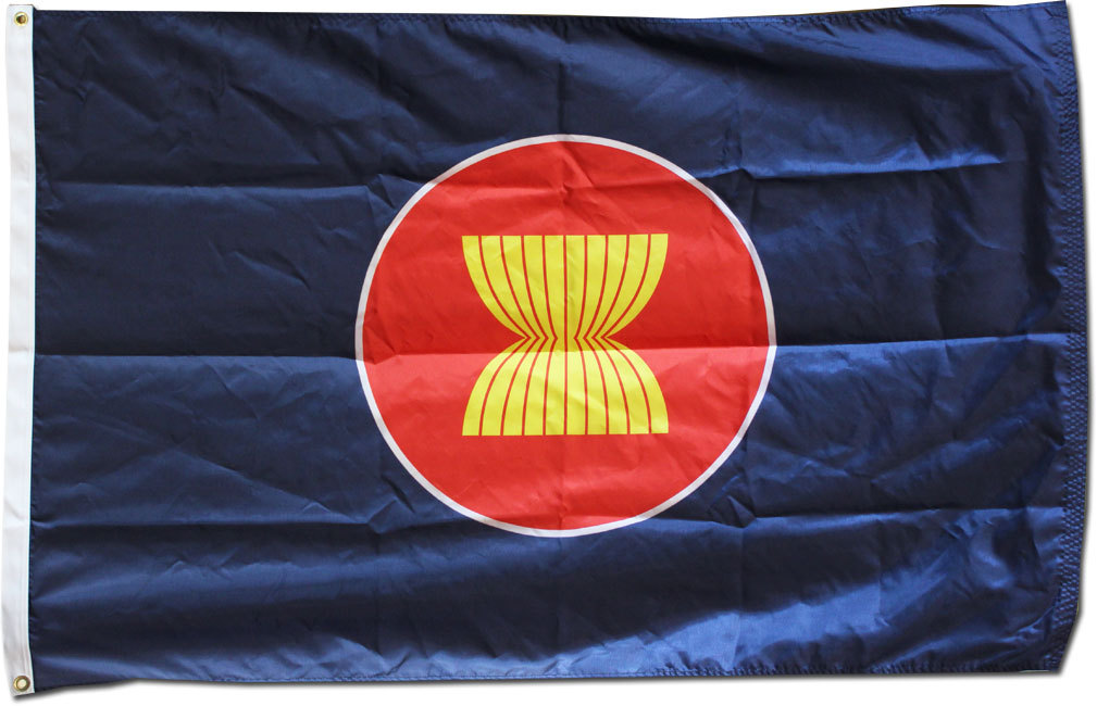 Asean 3x5 nylon flag