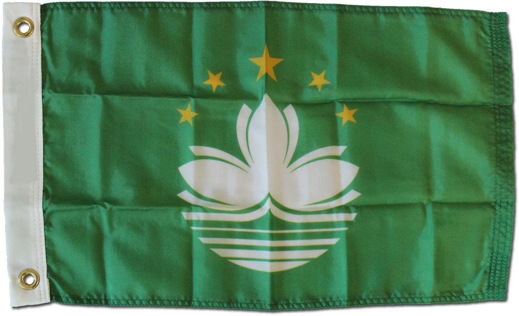 Macao 12x18 nylon flag