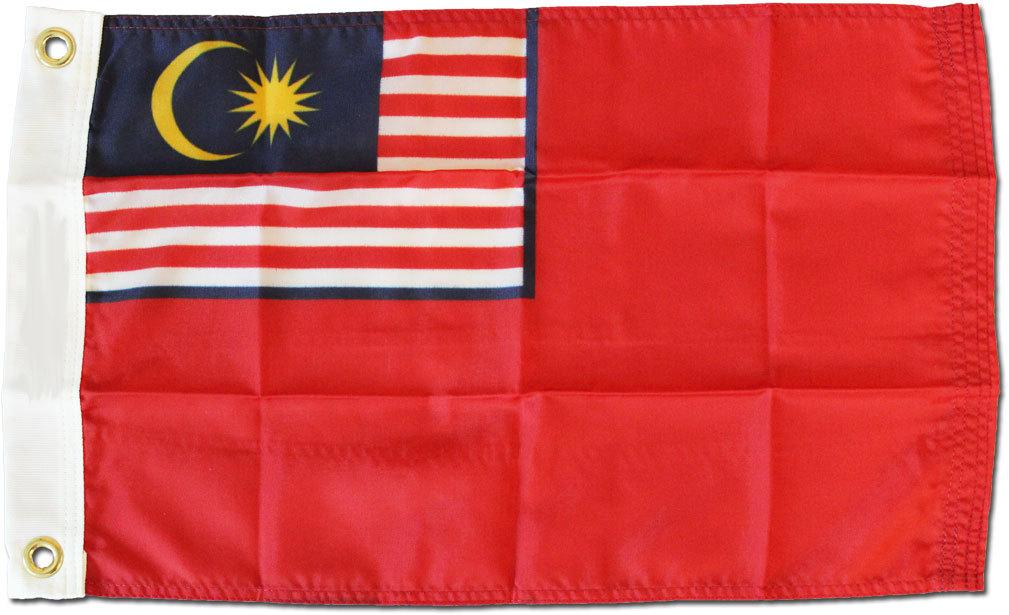 Malaysia ensign 12x18 flag