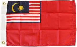 """Malaysia - 12""""X18"""" Nylon Flag (Red Ensign) - $21.60"""