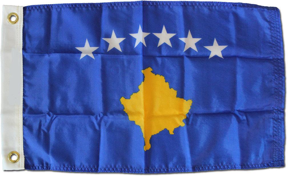 Kosovo 12x18 nylon flag