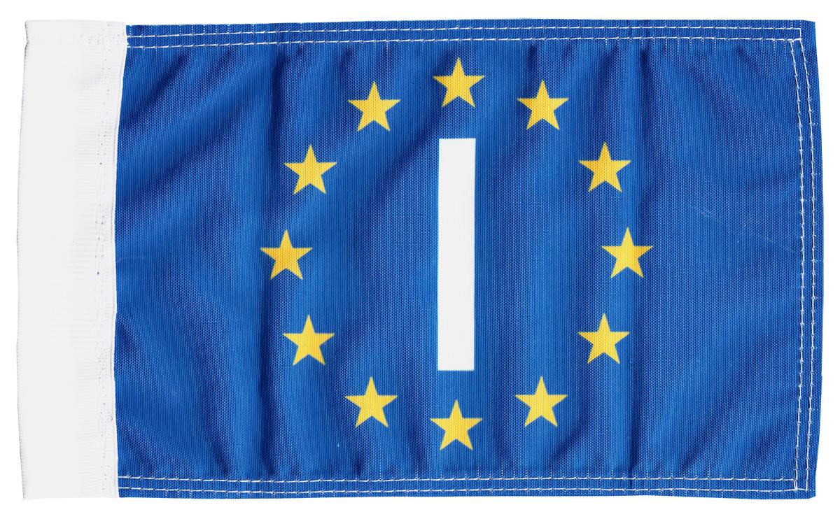 Italy eu motorcycle flag