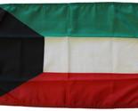 Kuwait 12x18 nylon flag thumb155 crop