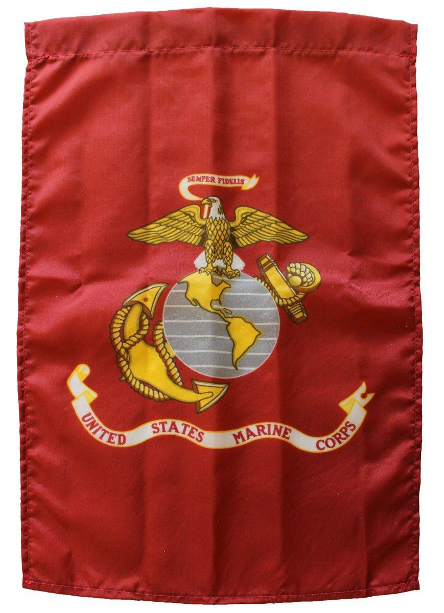 """Marines - 12""""x18"""" Garden Banner"""