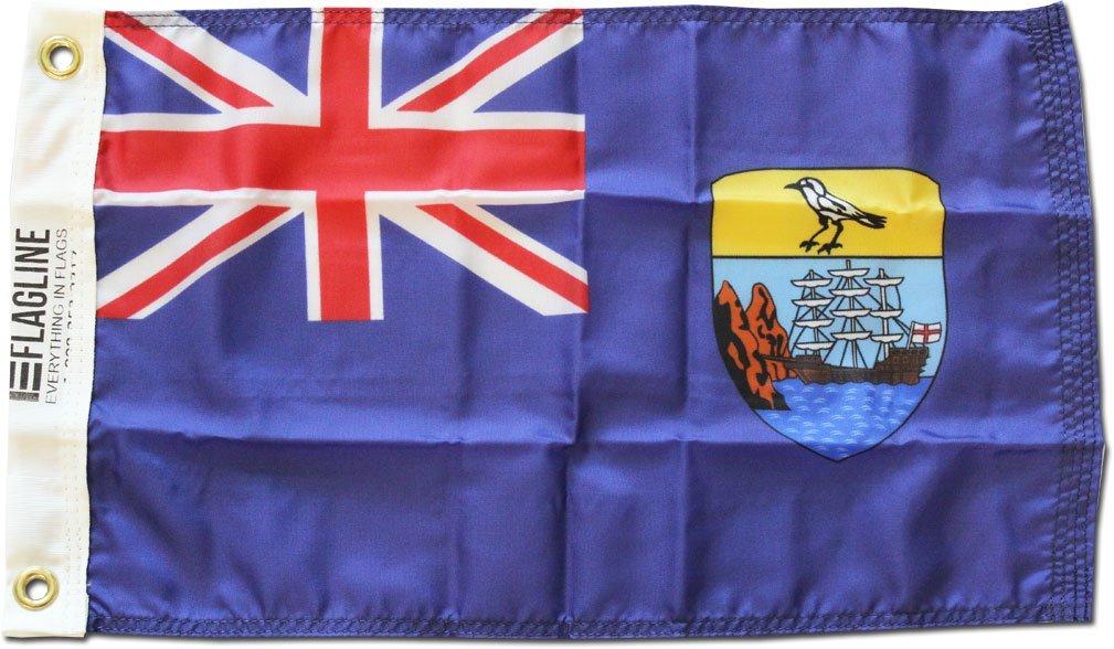 St helena 12x18 flag
