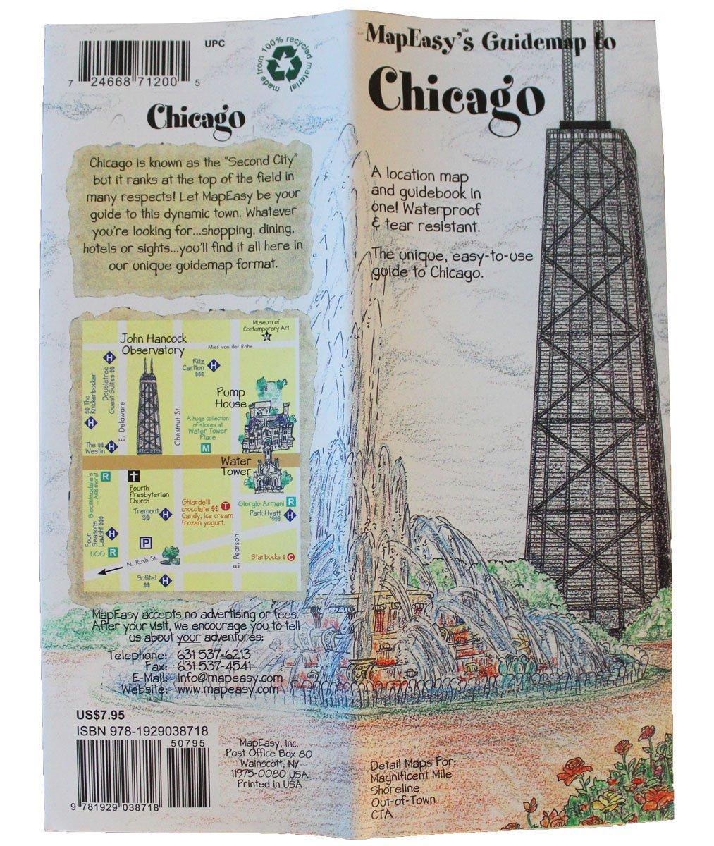 Chicago mapeasy map