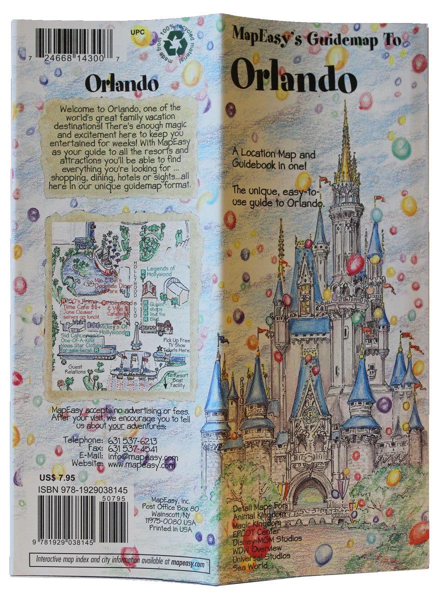 Orlando mapeasy map