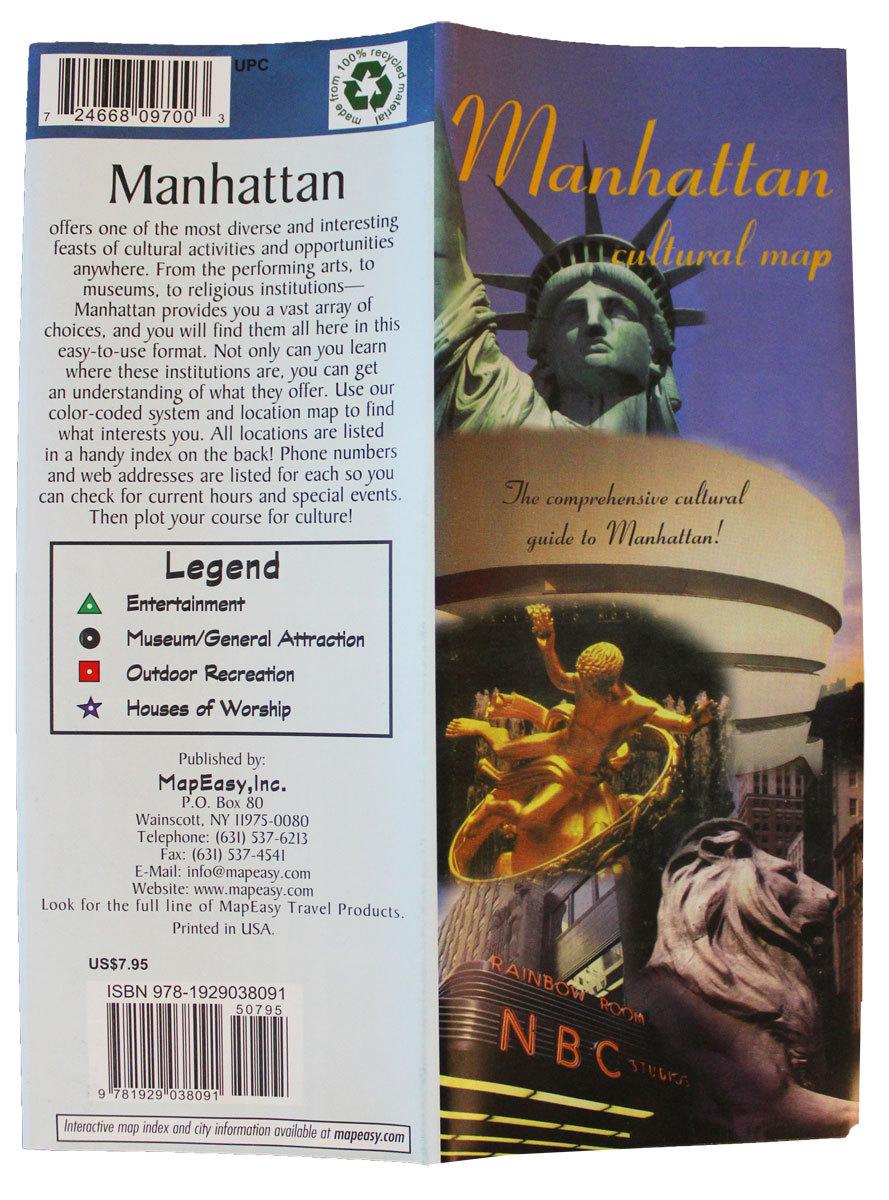 Manhattan mapeasy map