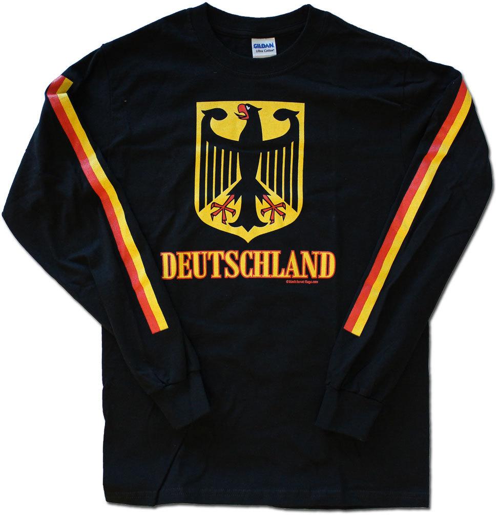 Germany black long shirt