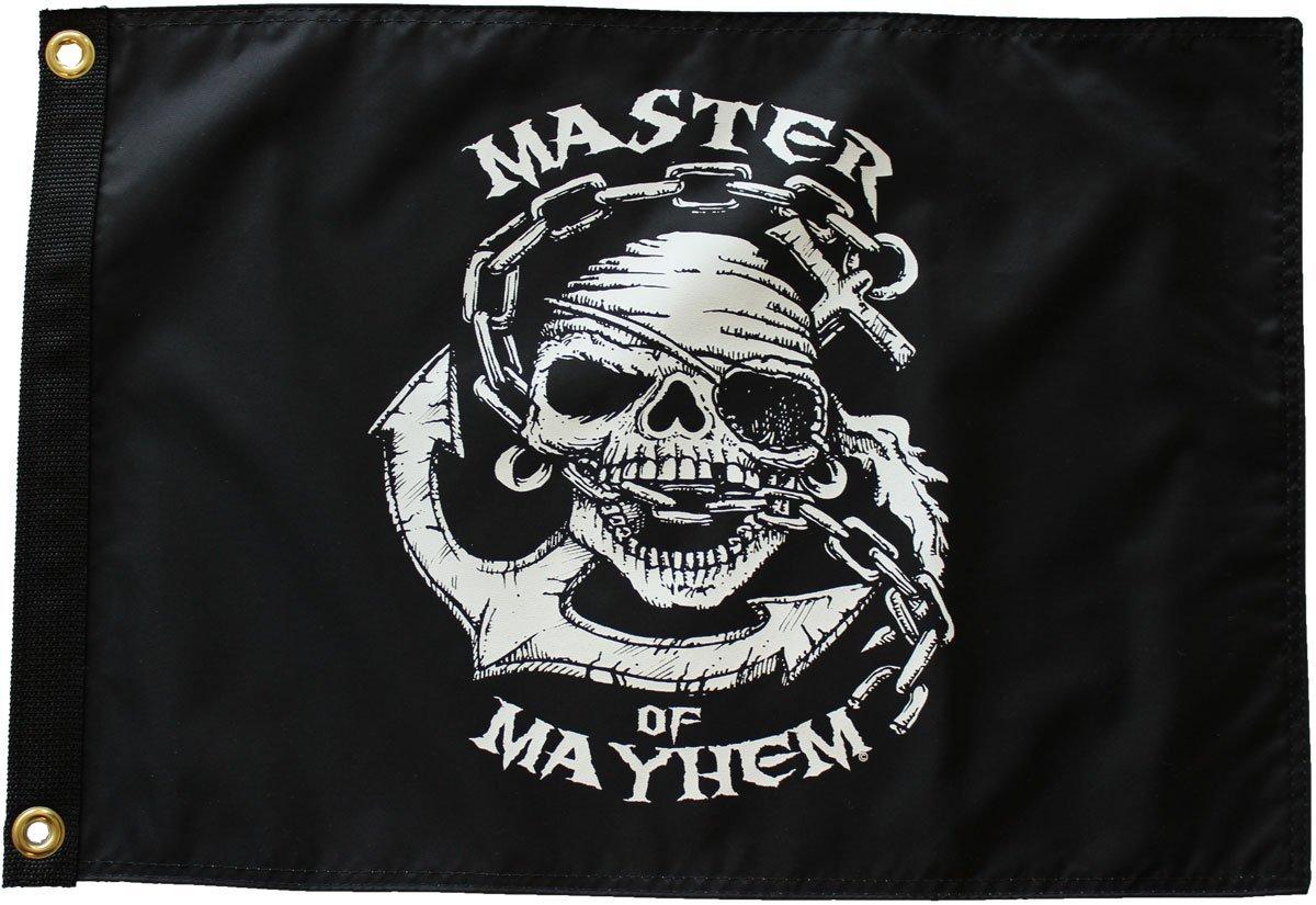 """Master of Mayhem - 12""""X18"""" Nylon Flag"""