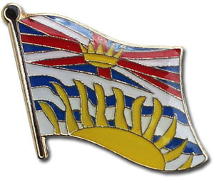 British columbia lapel pin