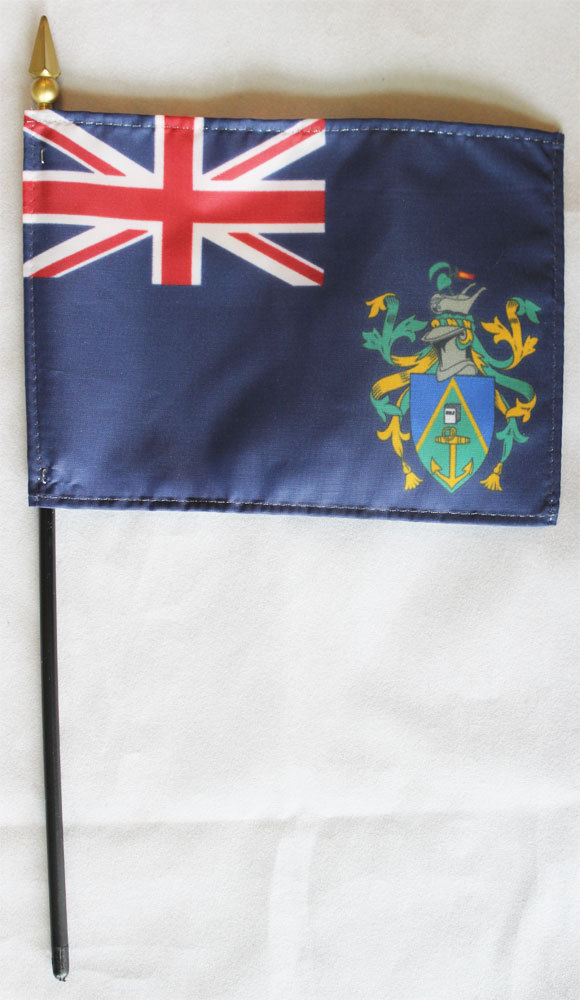 Pitcairn islands stick flag
