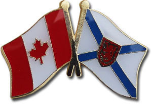 Nova scotia friendship pin