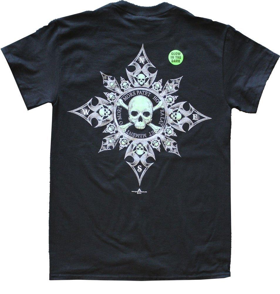 Pirate Compass Cotton T-Shirt (XXL)