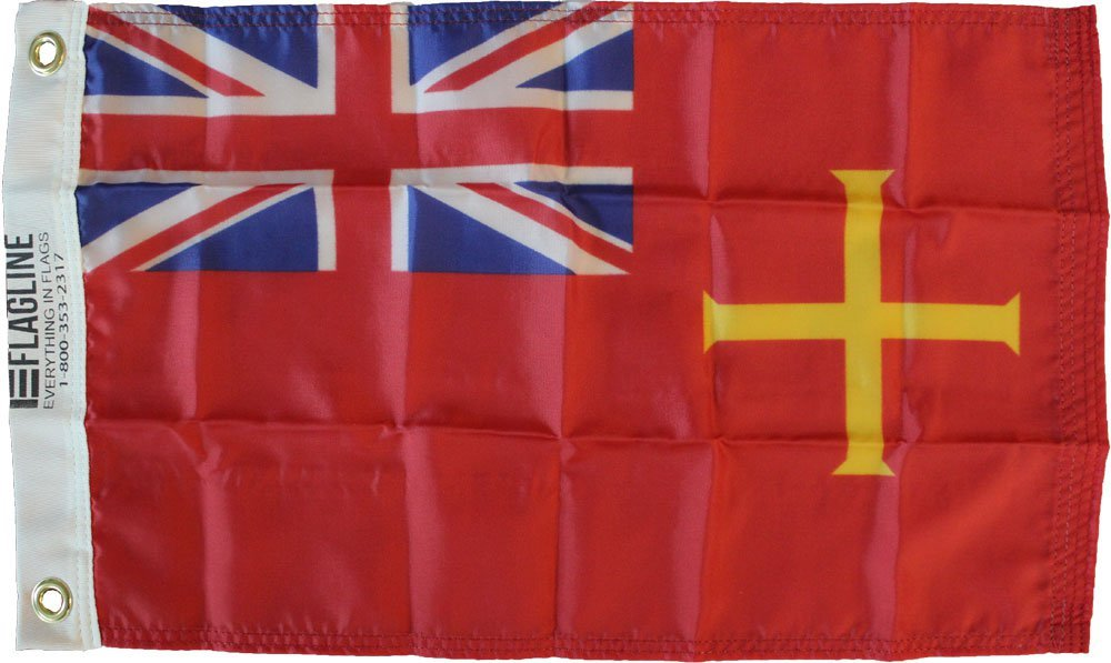 Guernsey 12x18 red flag