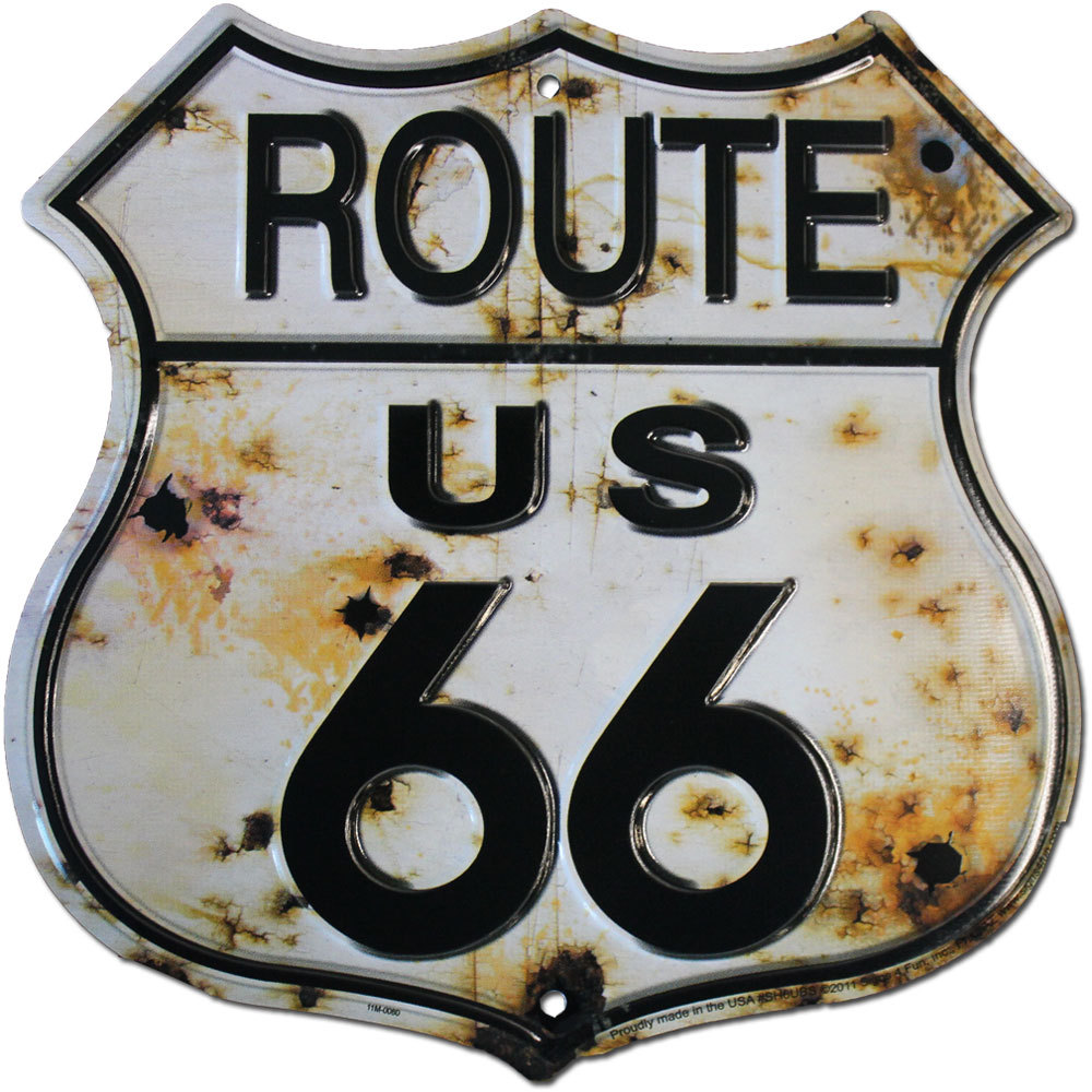 Route 66 bullet sign