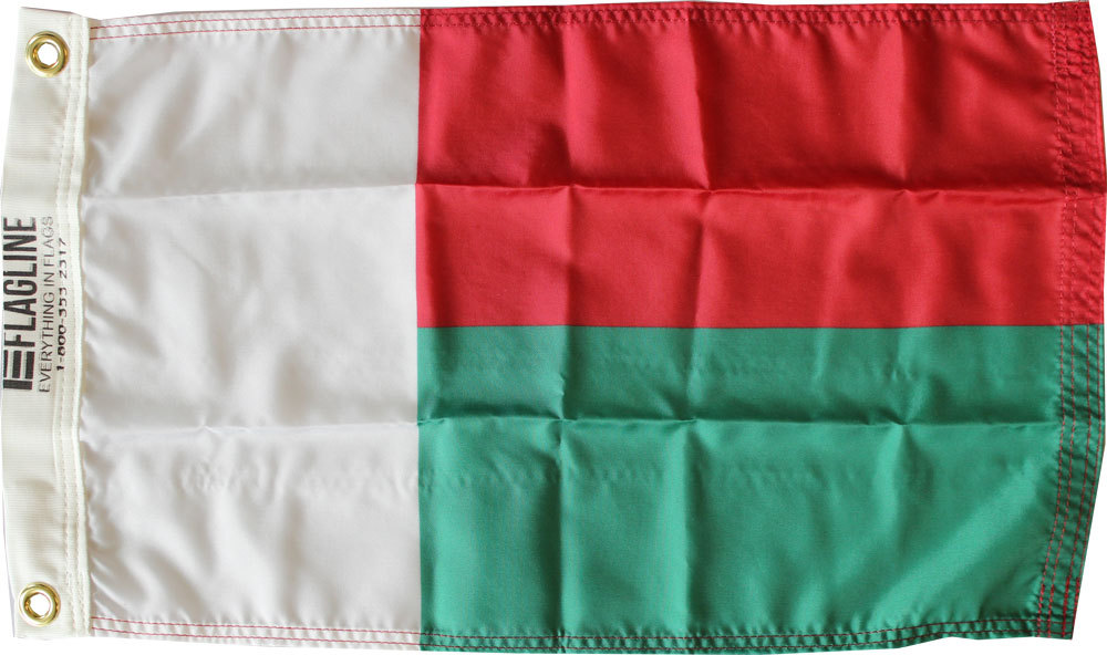 Madagascar 12x18 nylon flag