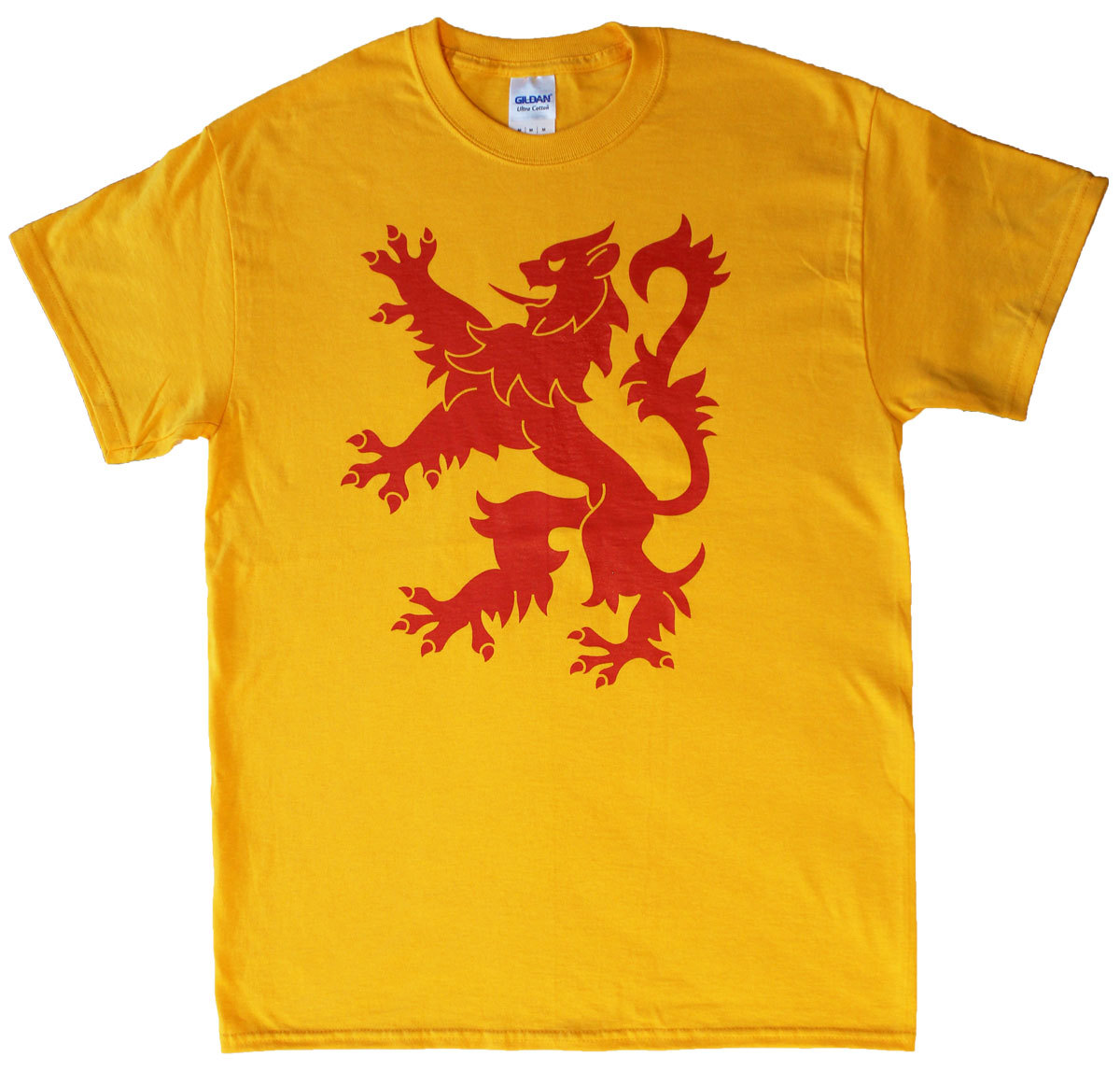 Scotland lion t shirt 3