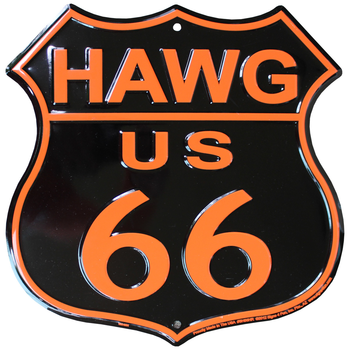 Route 66 Highway Shield (Hawg)