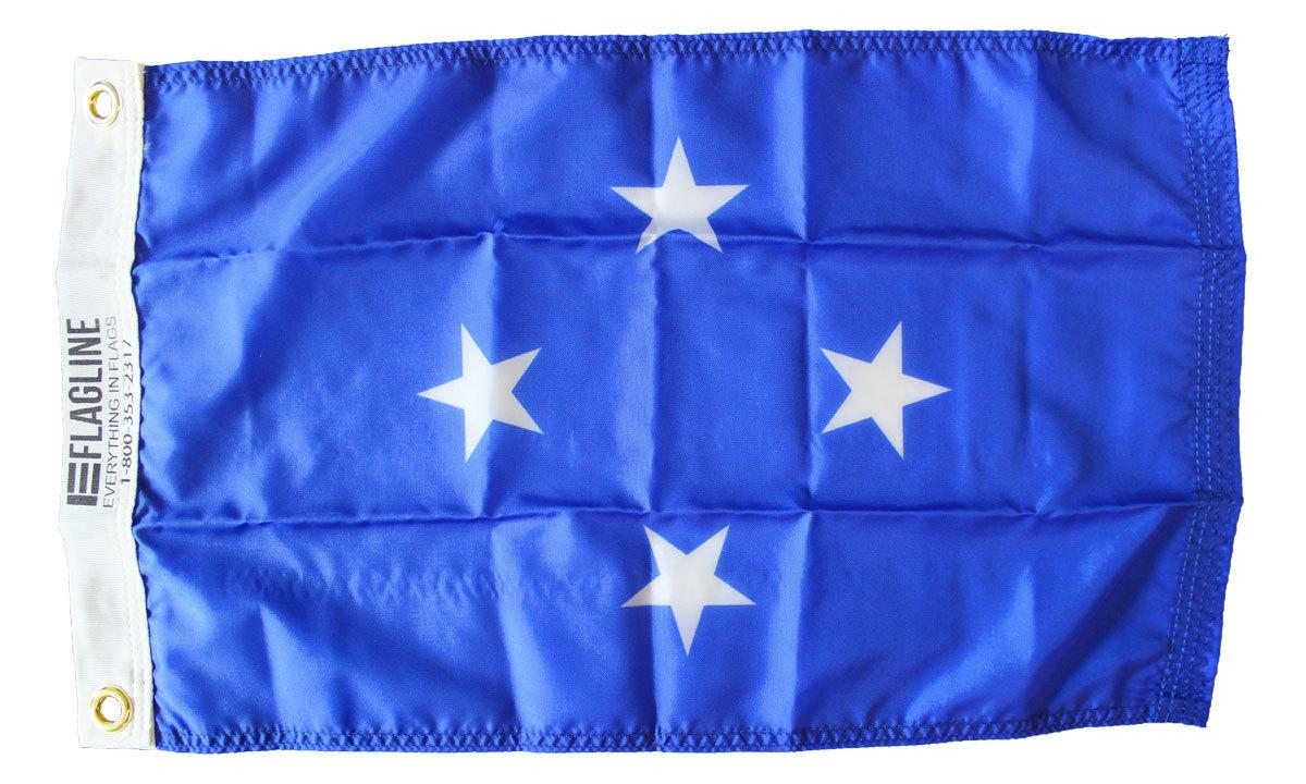 Micronesia 12x18 flag