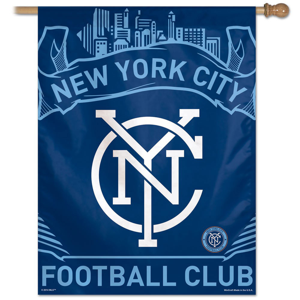 "New York City FC - 27""x37"" Polyester Banner"