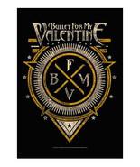 Bullet for My Valentine Textile Poster (Emblem) - $18.00