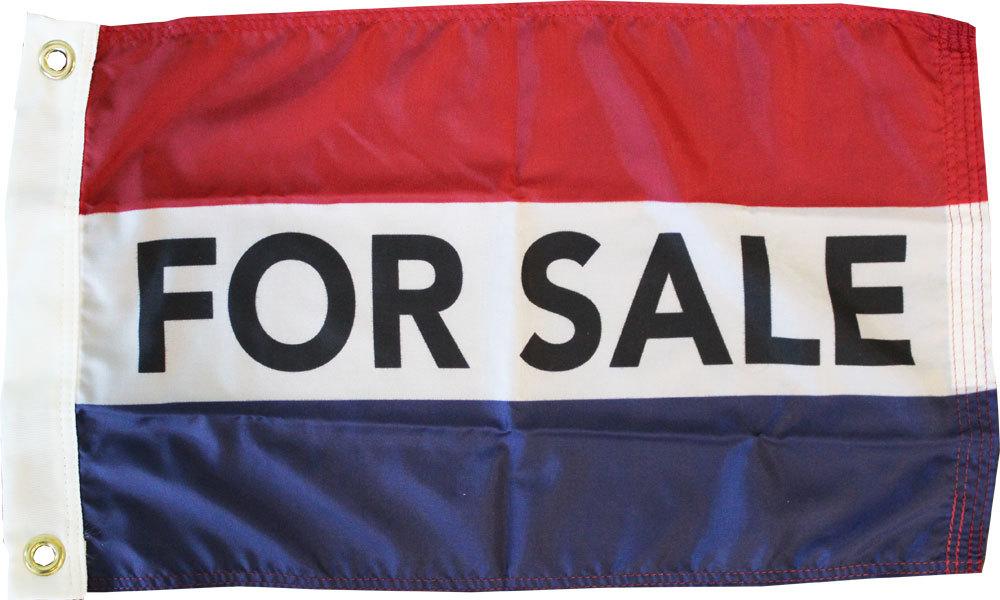 For sale 12x18 nylon flag