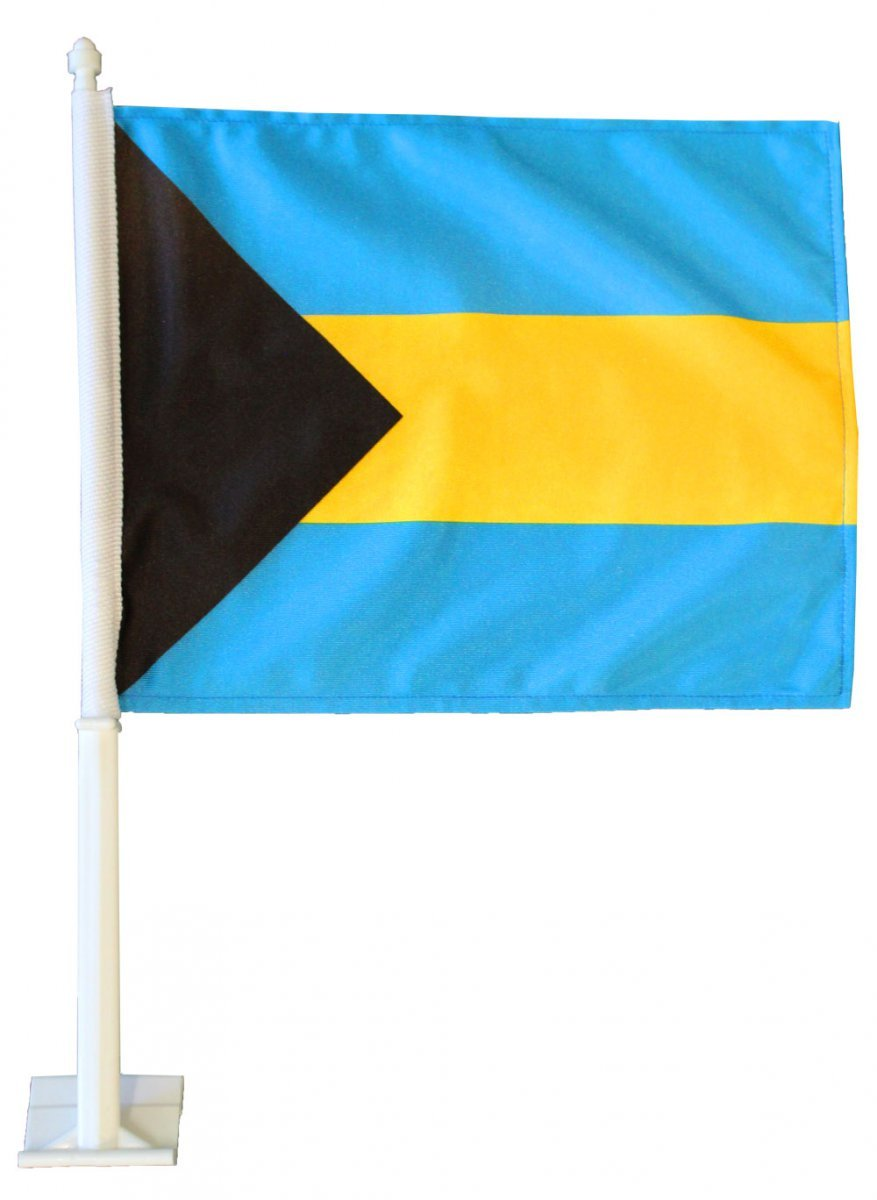 Bahamas car flag