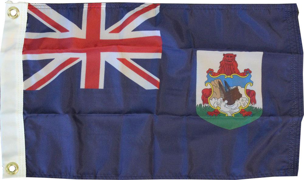 Bermuda blue 12x18 flag
