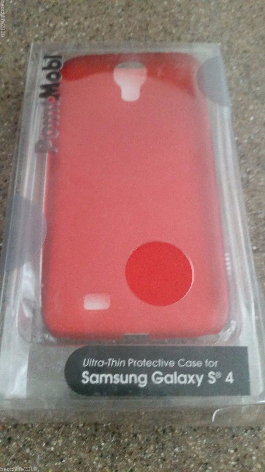 Pointmobi Case for Samsung Galaxy S4 Red NEW in Box FAST Ship