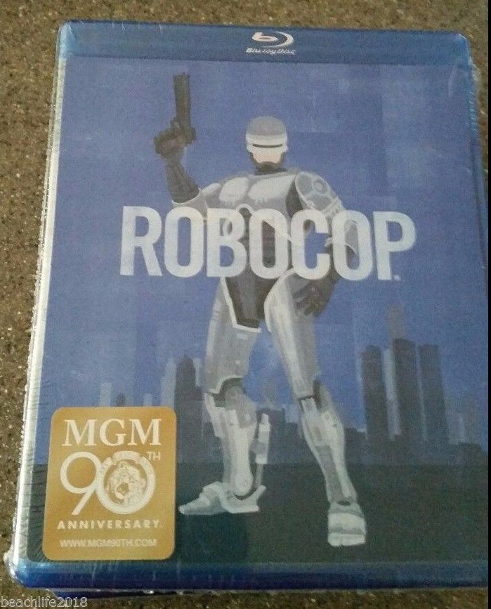 Robocop (Blu-ray Disc, 1987) NEW and FAST Shipping