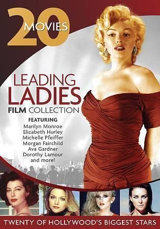 Leading Ladies Film Collection: 20 Movies (DVD, 2013, 4-Disc Set)