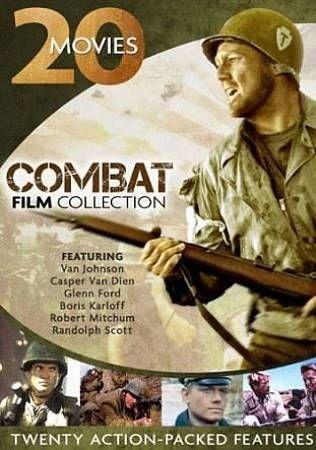 Combat Film Collection: 20 Movies (DVD, 2013, 4-Disc Set)